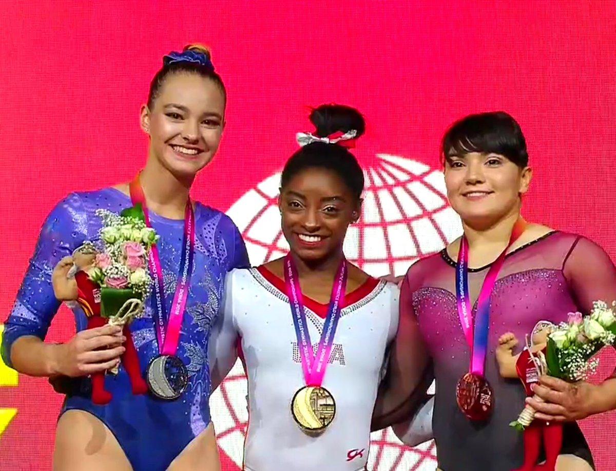Alexa Moreno gana primera medalla femenil en Mundial de Gimnasia