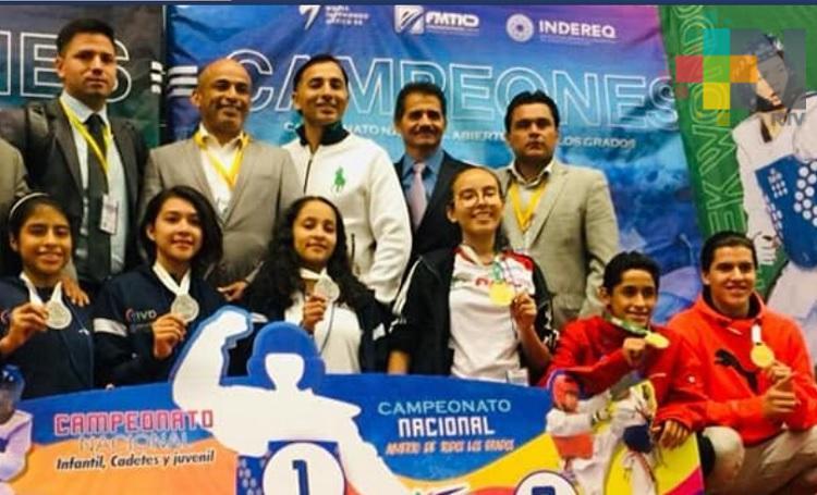 Gran participación de Veracruz en Nacional de Juvenil de Cadetes de TKD