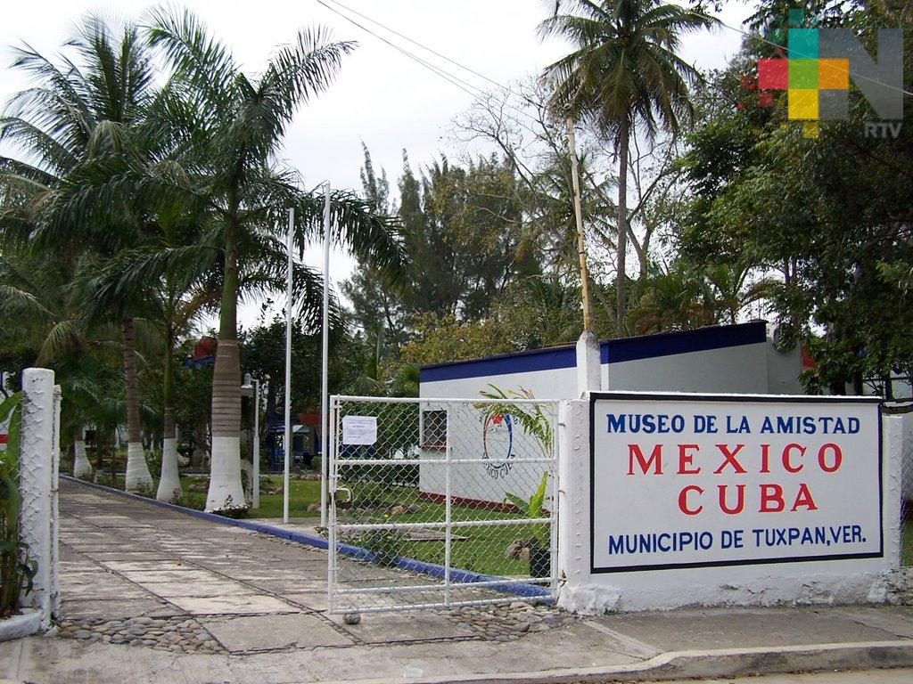 Museo de la Amistad México-Cuba estará abierto durante vacaciones decembrinas