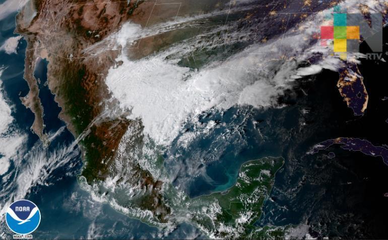 Dos frentes fríos y dos eventos de norte se prevén en Veracruz