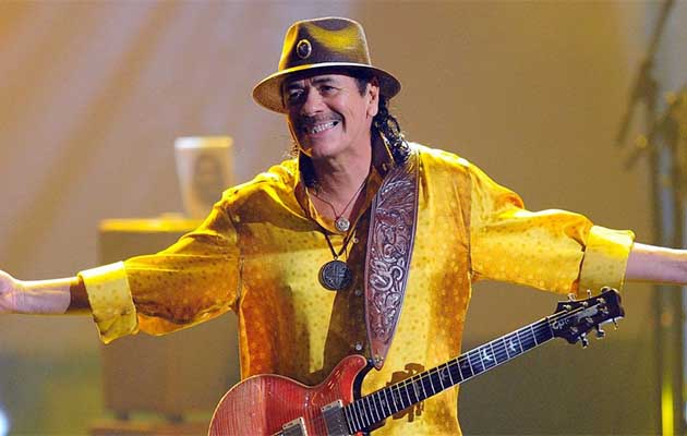 "Carlos Santana incluye a México en su ""Global Consciousness Tour"""