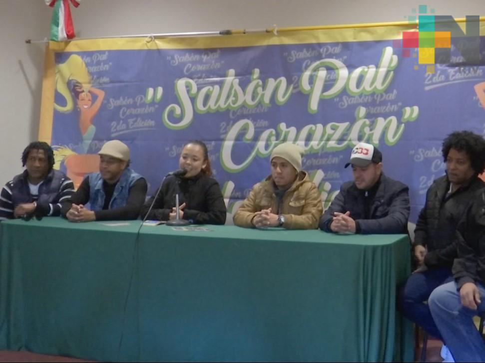 """Segunda edición del """"Salsón Pal' Corazón"""" se realizará en el salón Suterm"""