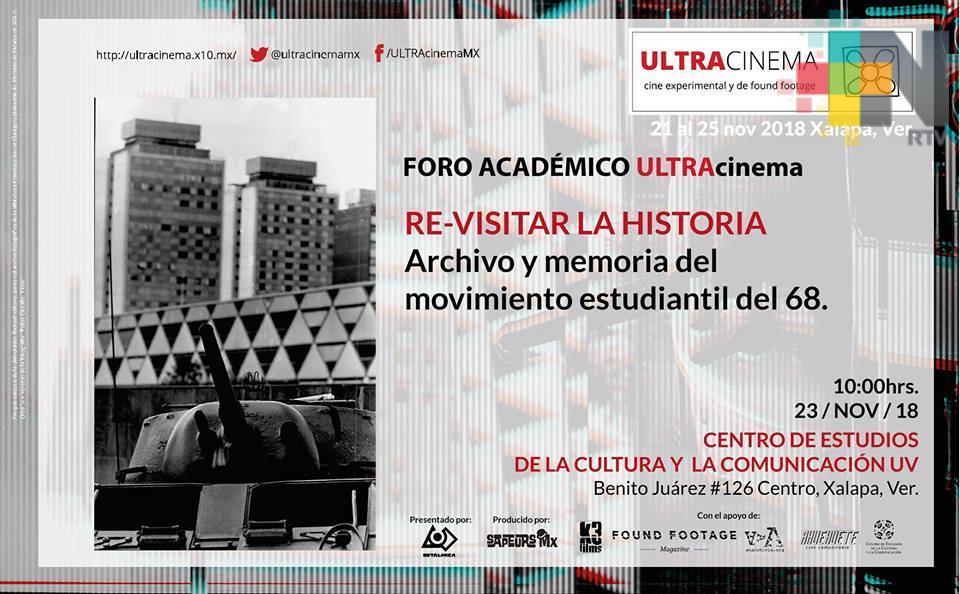 Proyecciones, ponencias y talles ofrecerá el Festival ULTRAcinema, en Xalapa