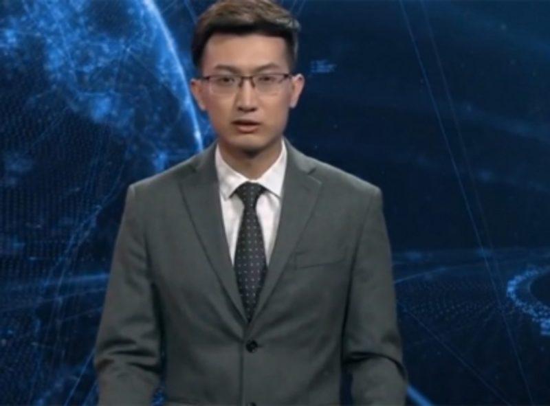 Primer conductor de noticias de inteligencia artificial debuta en China