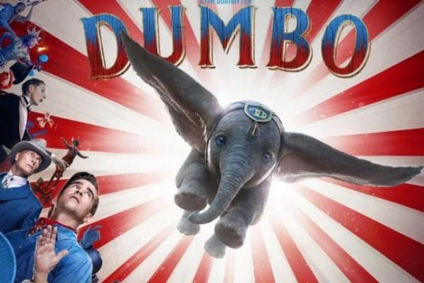 "Difunden poster de película ""Dumbo"" dirigida por Tim Burton"