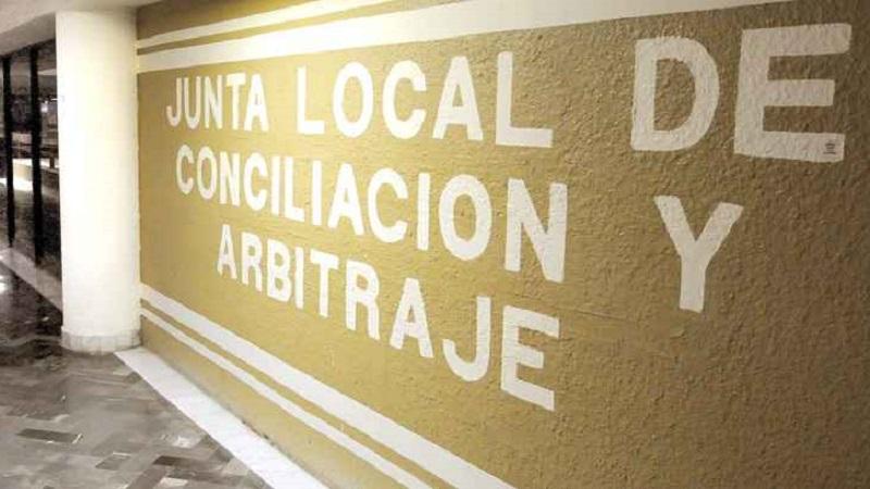 Durante la presente semana suspenden actividades en la Junta Local de Conciliación y Arbitraje de Poza Rica