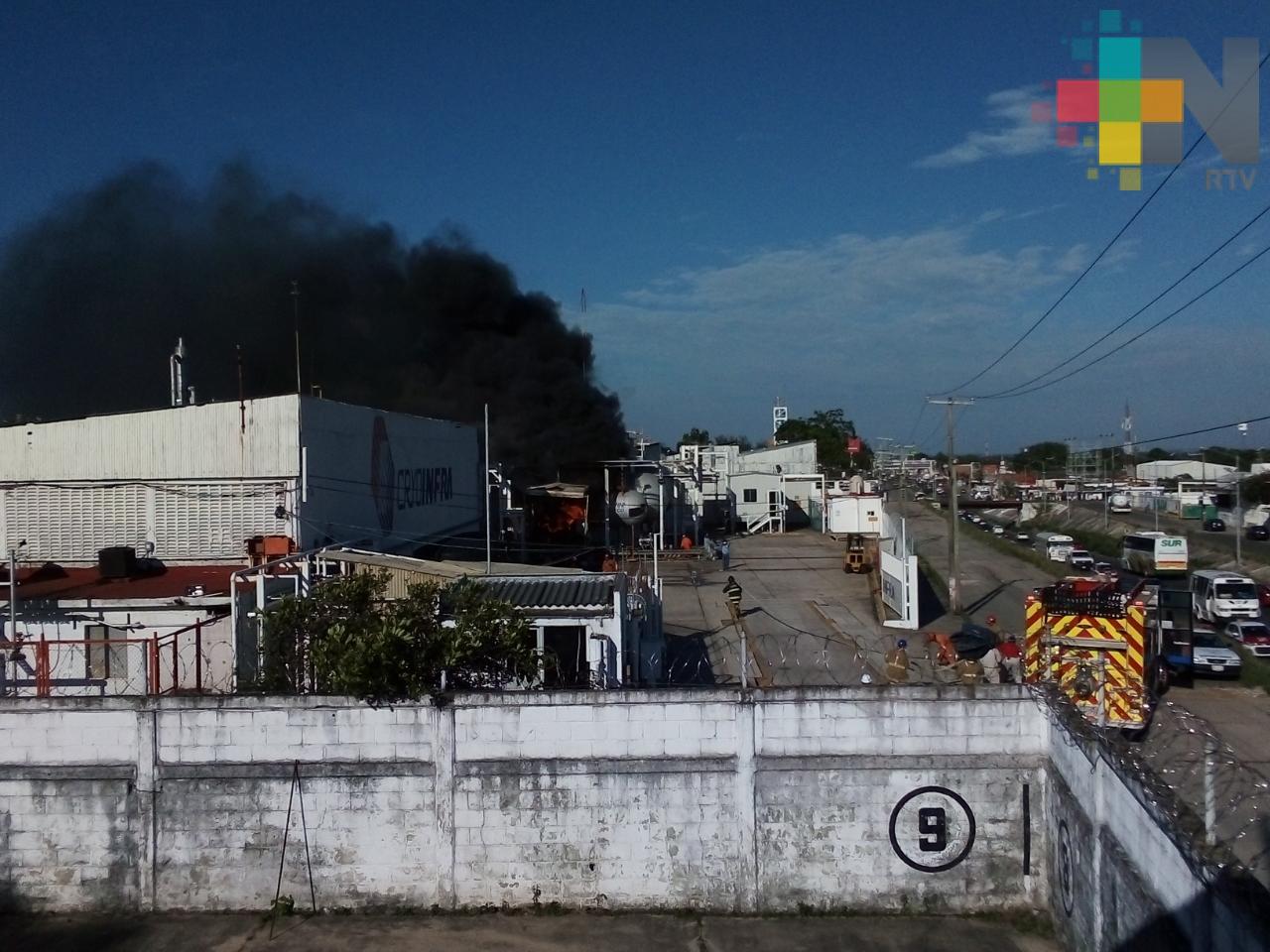 Sin lesionados por incendio en planta Cryoinfra
