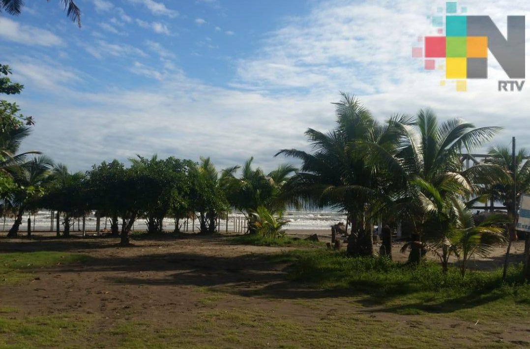 Surada trae ambiente cálido y limitado potencial de lluvias en el estado de Veracruz