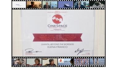 "México, ganador en Festival ""Cinespace"" de Nasa y Houston Cinema Arts Festival por segundo año consecutivo"