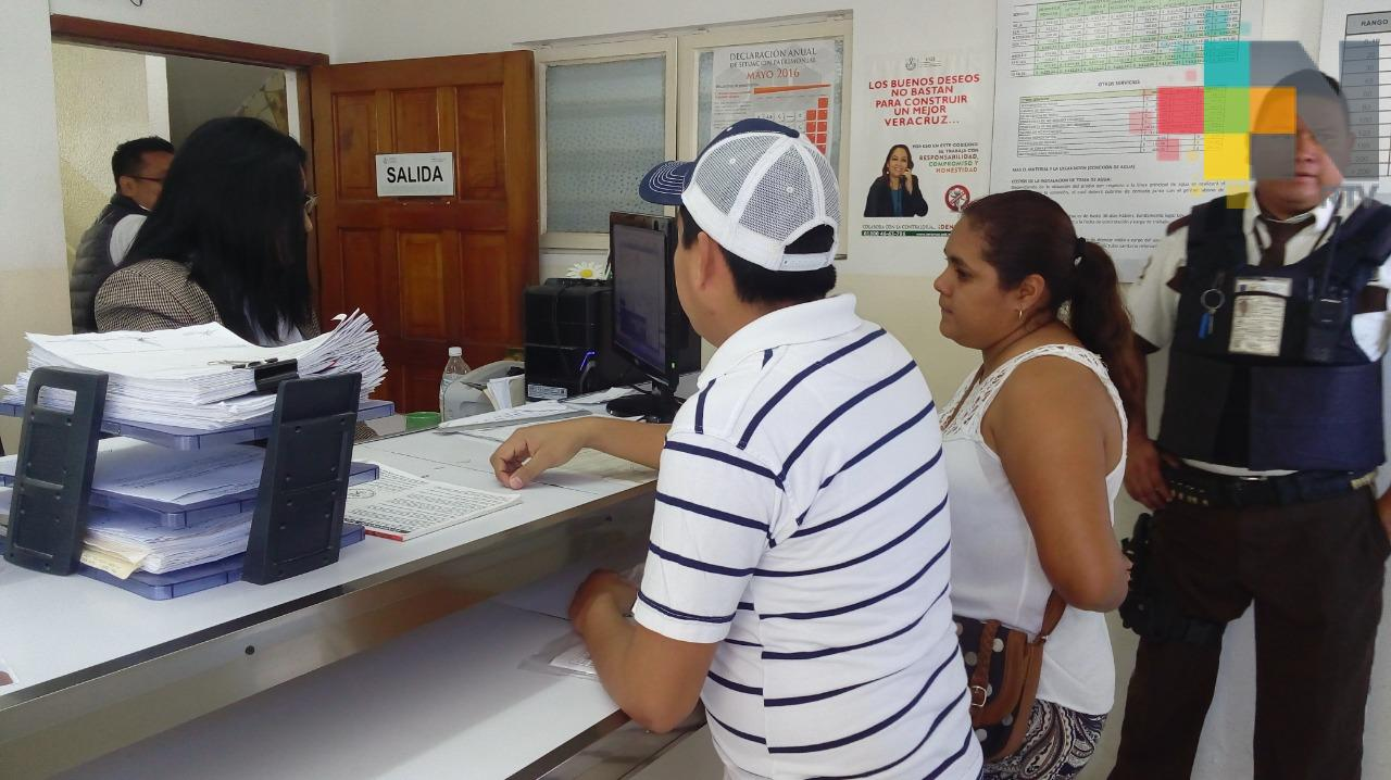 Inicia pago anual anticipado de agua en Tuxpan