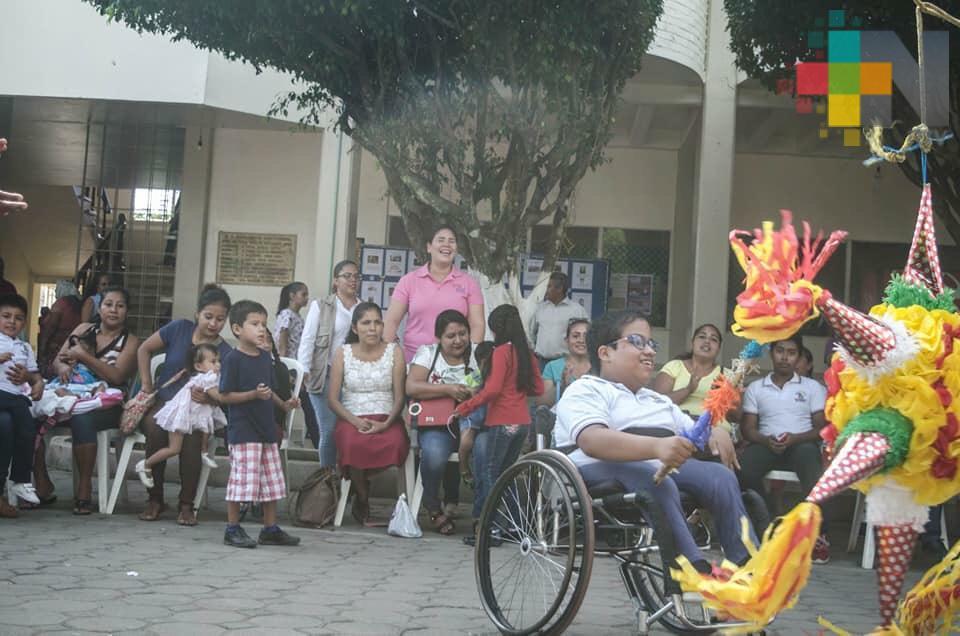 En Tres Valles conmemoran el Día Internacional de personas con discapacidad