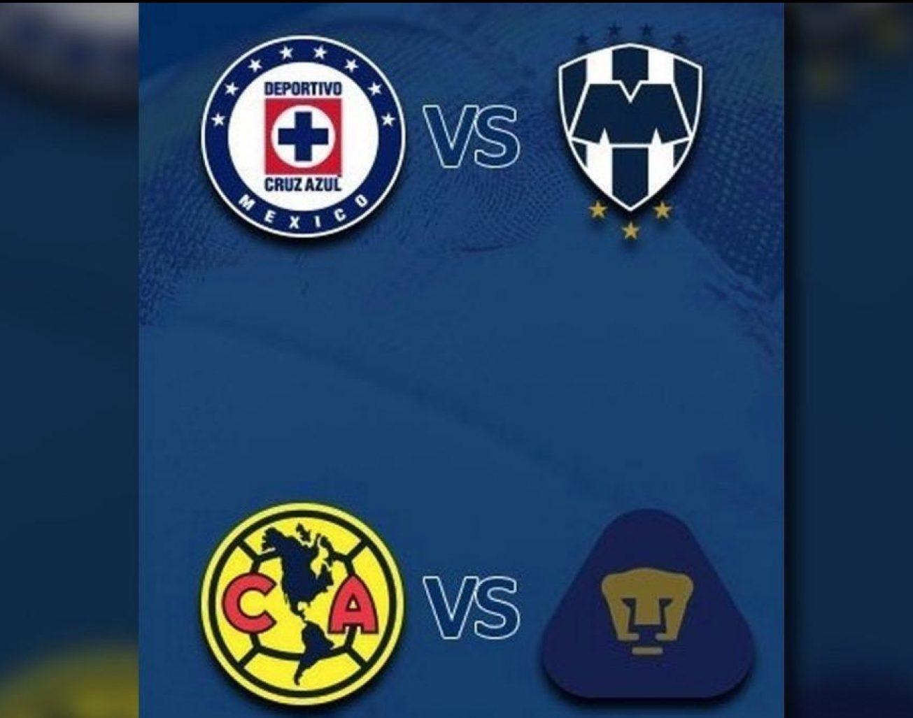 Listos los horarios de las semifinales de Liga MX