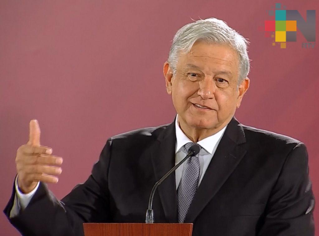Pago de contribuciones se manejarán con honestidad, garantiza López Obrador