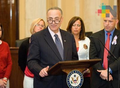 Rechazan demócratas otorgar a Trump mil mdd para muro