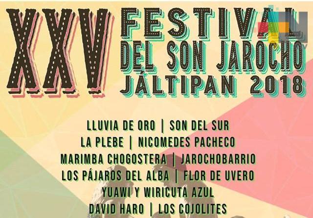 Se reúnen soneros de todo Veracruz en el festival musical en Jáltipan; cumple 25 años