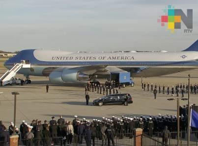 Inician funerales de Estado para expresidente George H.W. Bush