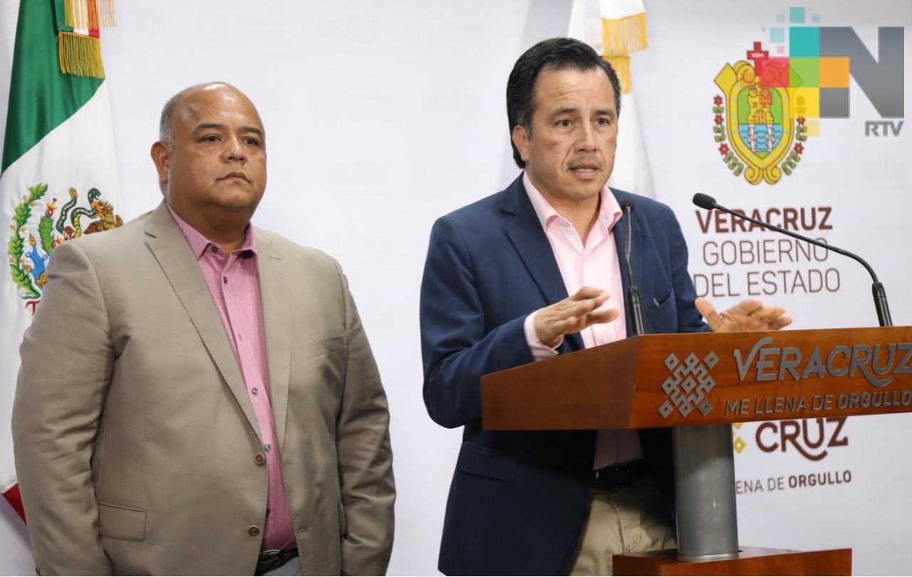 Negociaron Yunes y Winckler liberación de exfuncionarios duartistas: Cuitláhuac García