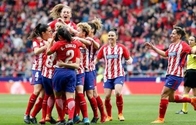 Mexicana Kenti Robles es titular en el triunfo del Atlético de Madrid