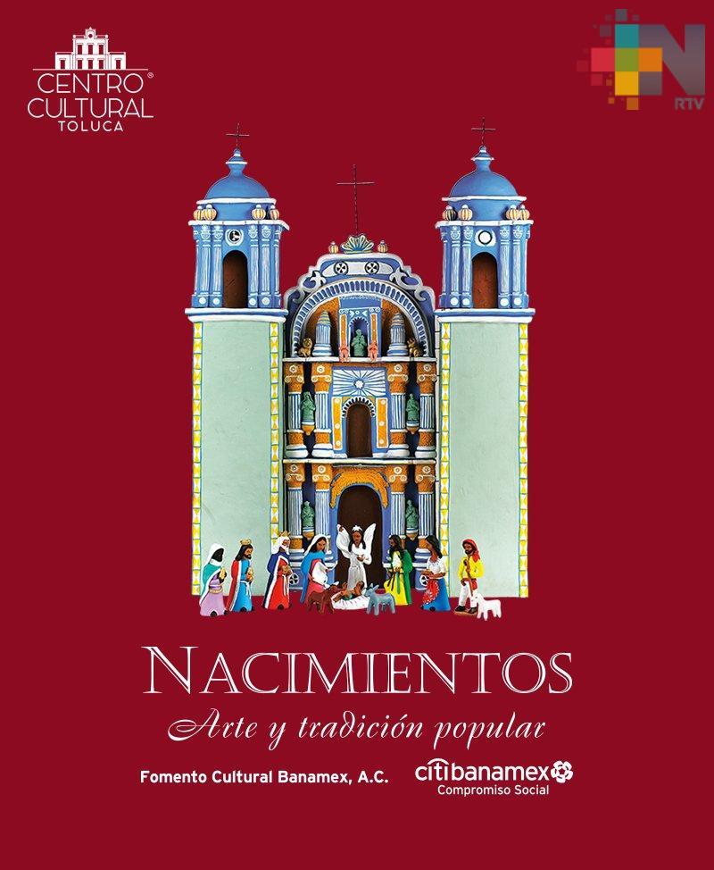 Exhiben en Toluca nacimientos de artesanos de diversos países