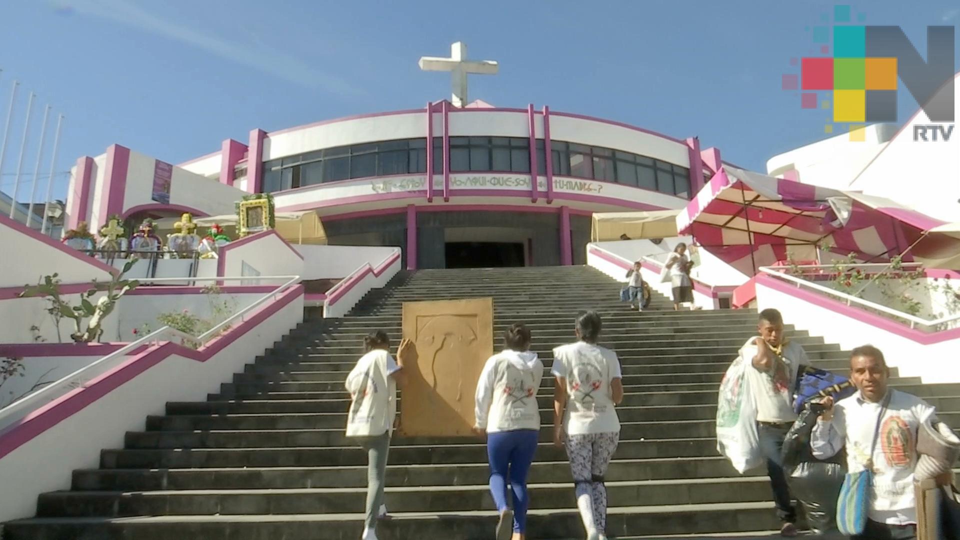 Tránsito ya implementa operativos viales por la llegada de peregrinos guadalupanos a Xalapa