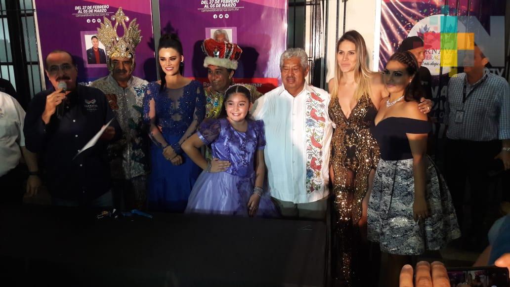 "Víctor René González ""Buchaca"", rey del Carnaval de Veracruz 2019"