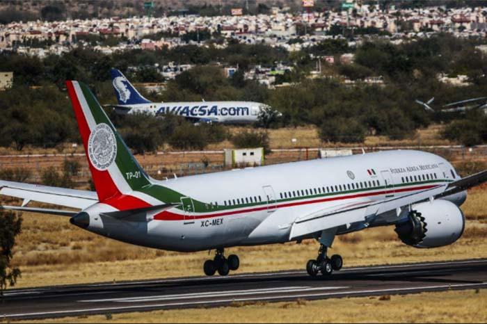 Recursos por venta de avión presidencial irían al plan migratorio