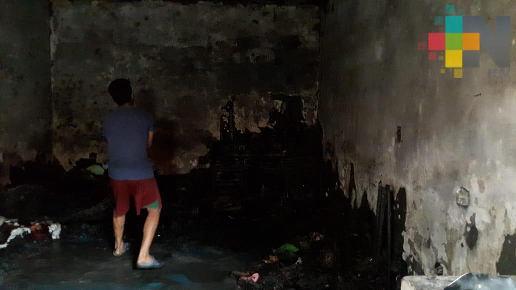 Un muerto deja explosión en cuartería de colonia Las Amapolas ll, en Veracruz puerto