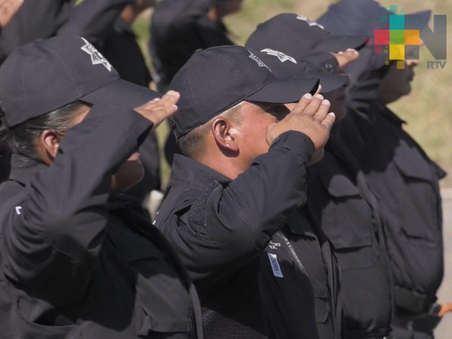 Capacitan a elementos de la policía municipal de Actopan