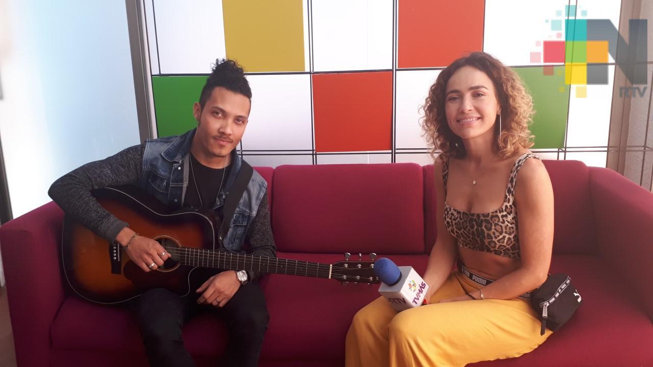 """Pau Muro promociona en Veracruz """"Paraíso"""", su más reciente sencillo musical"""