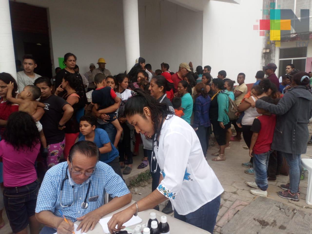 PC, SS y SSP se coordinan para dar atención humanitaria a migrantes que transitan por Veracruz