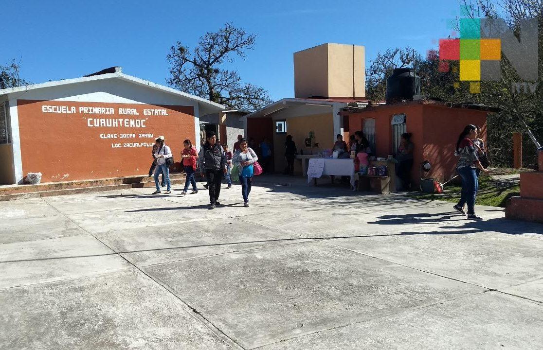 SEV y UPAV ofrece bachillerato mixto para mayores de 15 años en Zacualpan