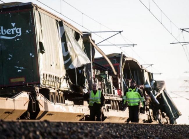 Accidente ferroviario deja seis muertos en Dinamarca