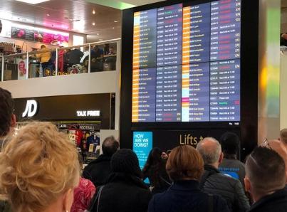 Huelga en aeropuertos alemanes afecta a más de 600 vuelos