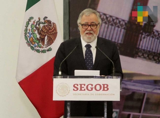 """No militarizaremos frontera sur, ni permitiremos """"portazo"""": Gobernación"""