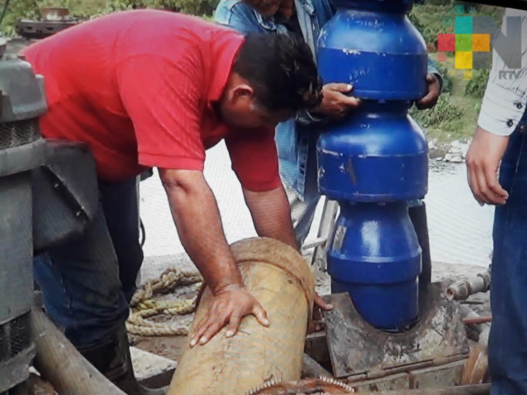 Sustituye CAEV bomba de agua en Martínez de la Torre