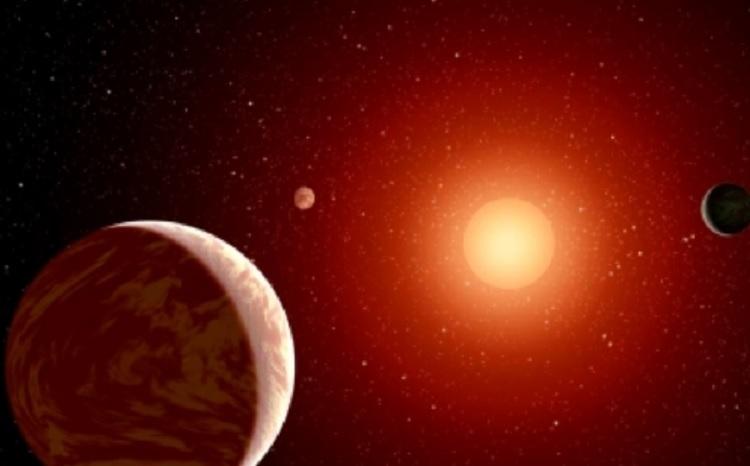 """Científicos descubren exoplaneta en """"zona habitable"""" de estrella roja"""
