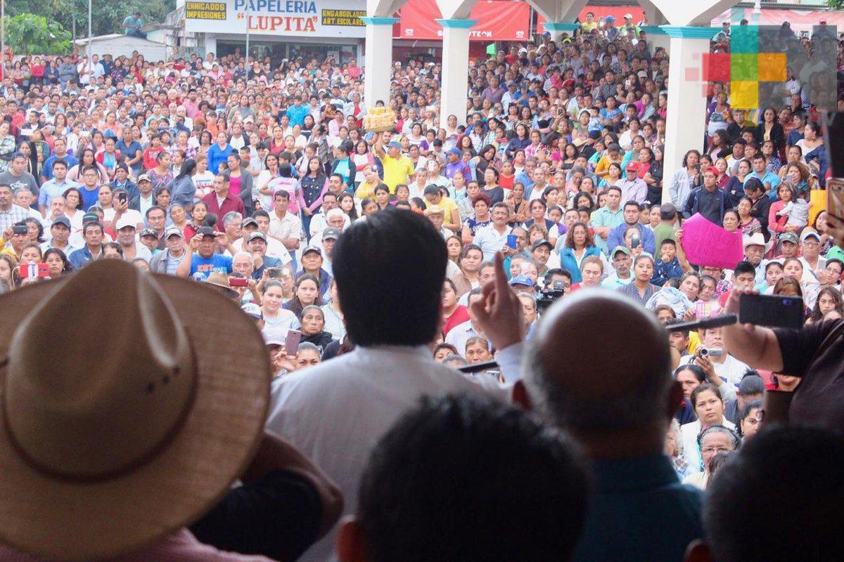 Anuncia el gobernador Cuitláhuac García la cancelación del relleno sanitario en Chinameca
