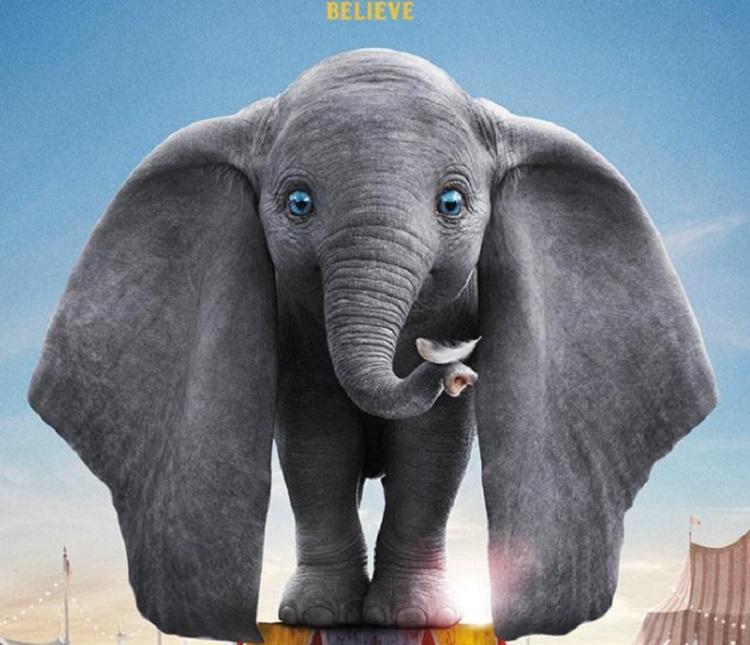 """El pequeño """"Dumbo"""" se luce en nuevo póster del filme de Disney"""