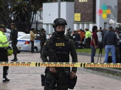 Aumenta a 10 el número de muertos por atentado en Bogotá