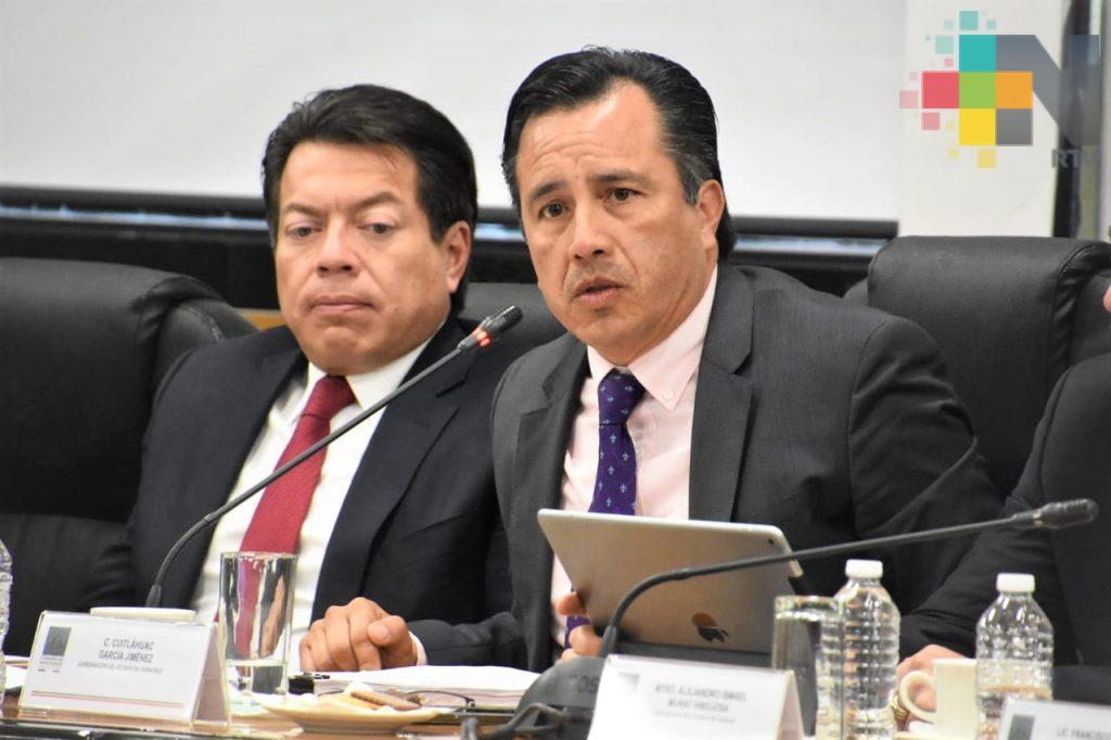 Urgente la Guardia Nacional para atender la inseguridad en Veracruz: Cuitláhuac García
