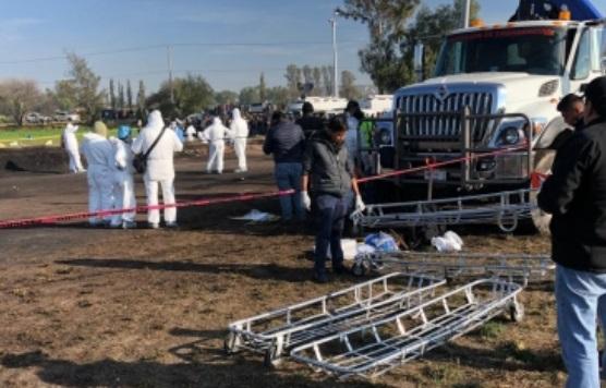 Harán pruebas genéticas para identificar a víctimas de explosión en Hidalgo