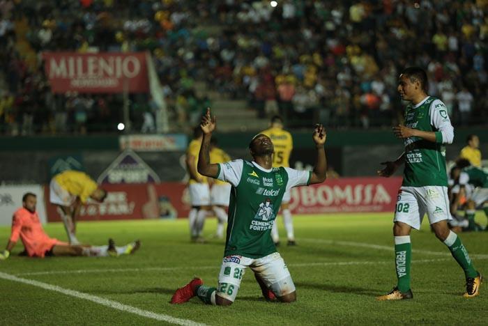 León rescató empate en Monterrey