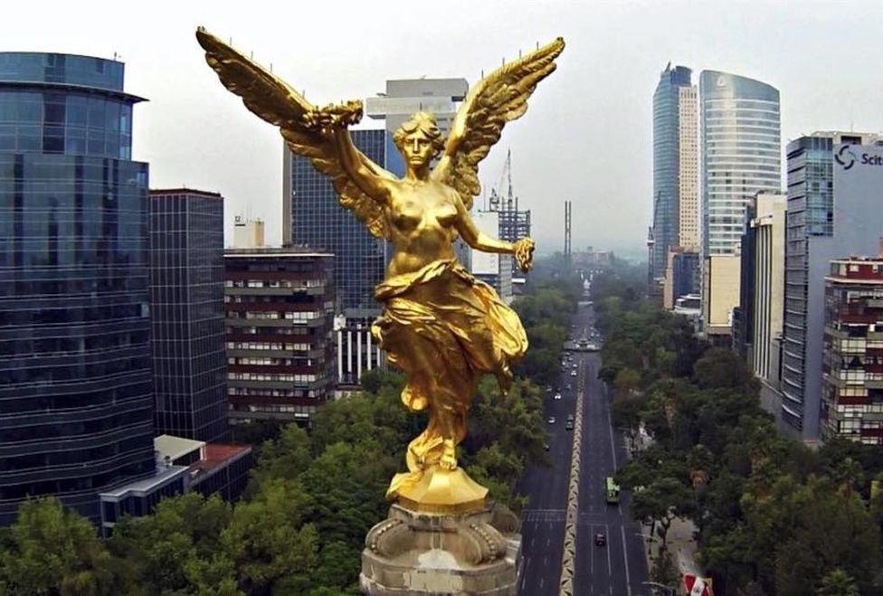 Ángel de la Independencia y sus restauraciones en 108 años de historia