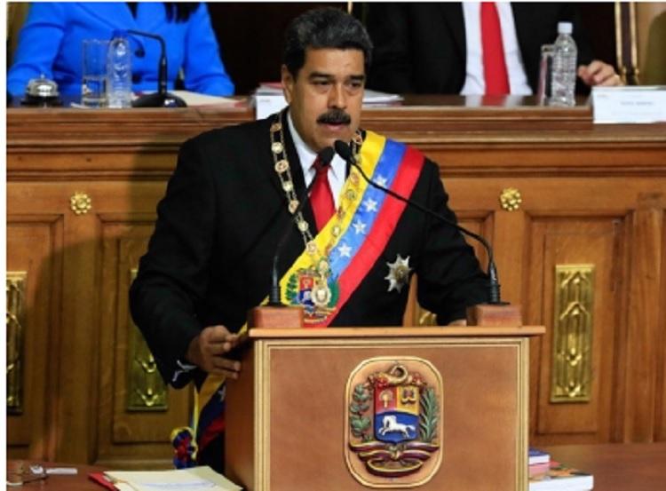 Nicolás Maduro asume segundo mandato presidencial