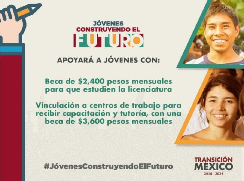 Veracruz, tercer lugar nacional en el registro de Jóvenes Construyendo el Futuro