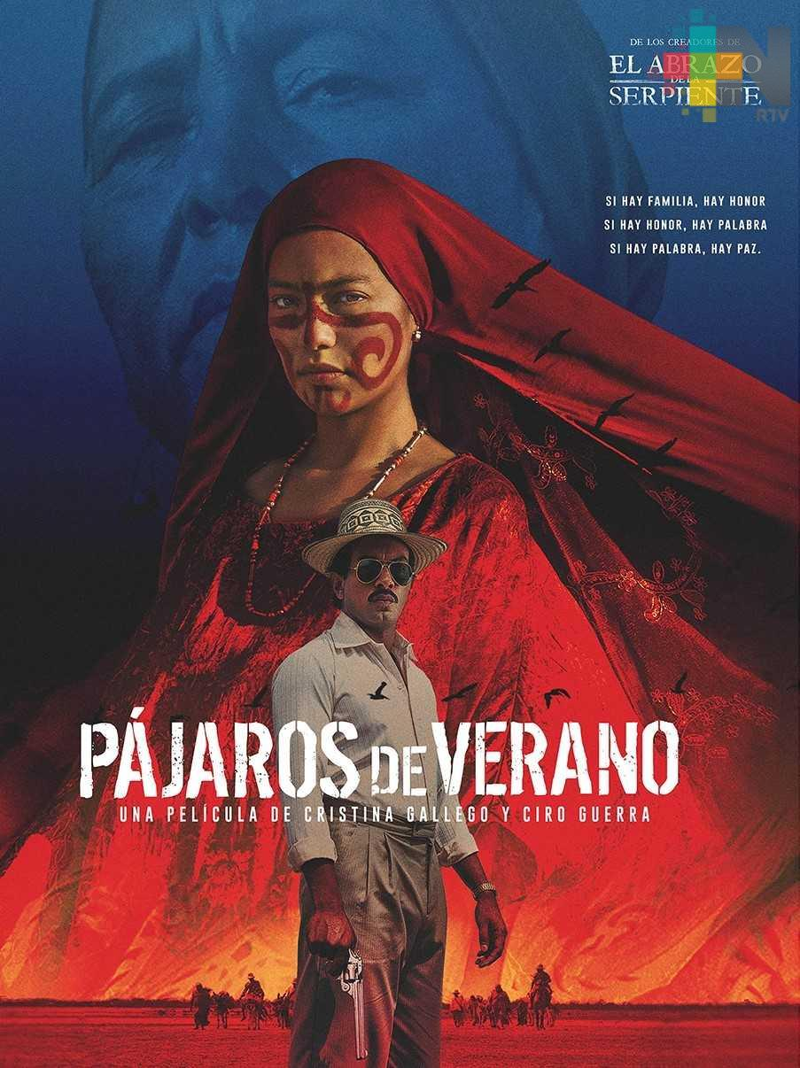 """Estrenarán la película """"Pájaros de Verano"""" en el Ágora de la Ciudad"""