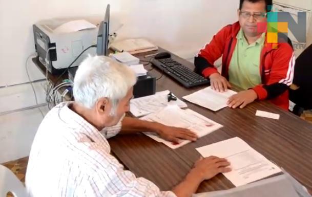 En Tantoyuca inician servicio de registro del derecho vehicular