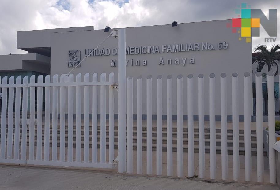 Próximo lunes entrará en operación UMF 69 en Coatzacoalcos