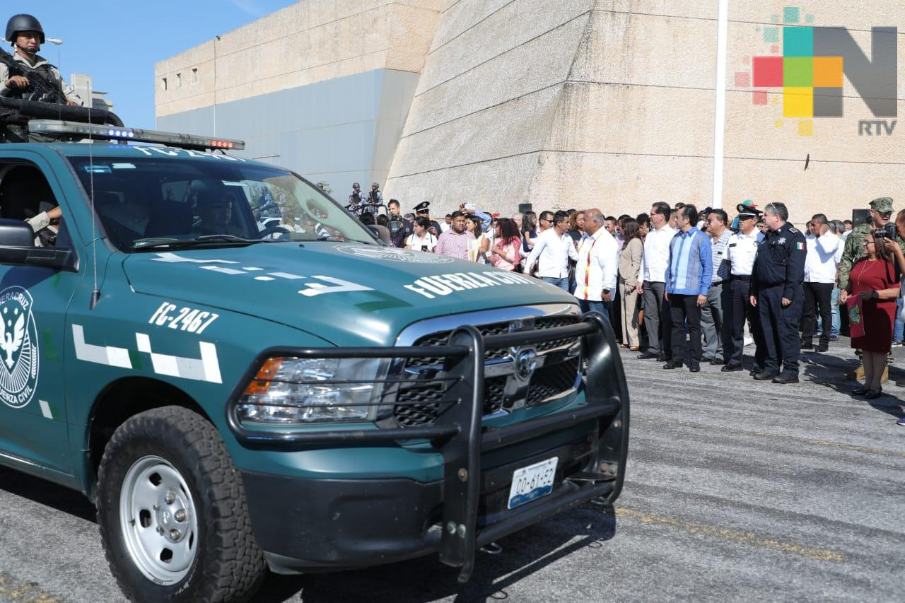 Resultados oportunos ha dado el Programa Integral de Seguridad: Cuitláhuac García Jiménez
