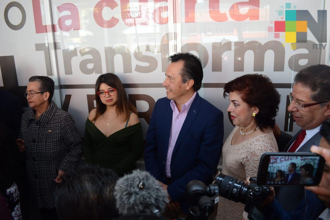 Inauguró Gobernador de Veracruz, Casa de Gestión de legisladoras
